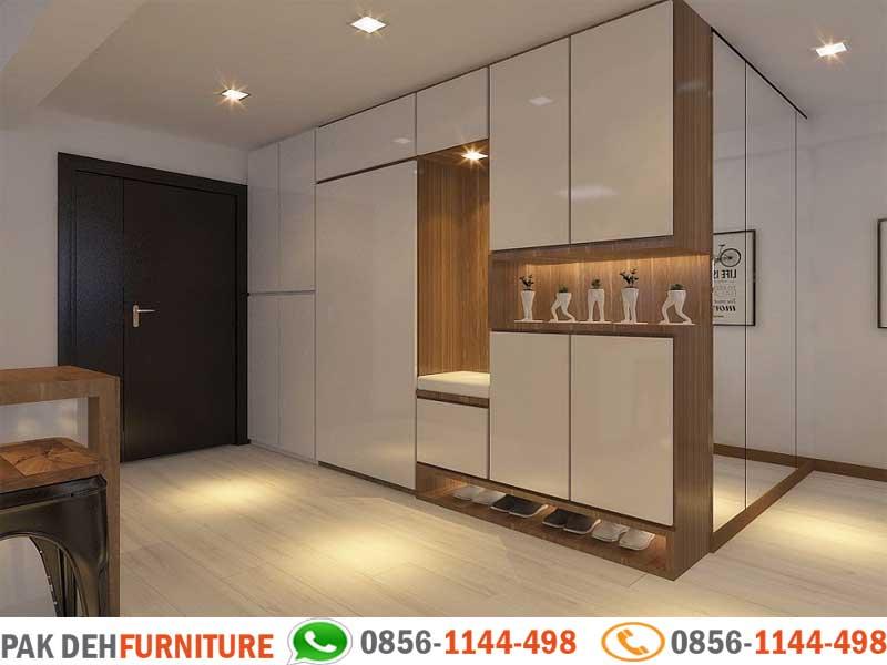 Foto Lemari Partisi Ruangan Jasa Pembuatan Furniture Custom