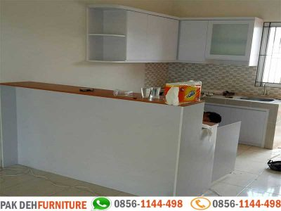 Portfolio Kitchen Set Warna Putih