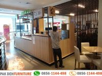 Portofolio Pembuatan Booth Makanan Mall