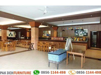 Portofolio Pembuatan Meja Restaurant