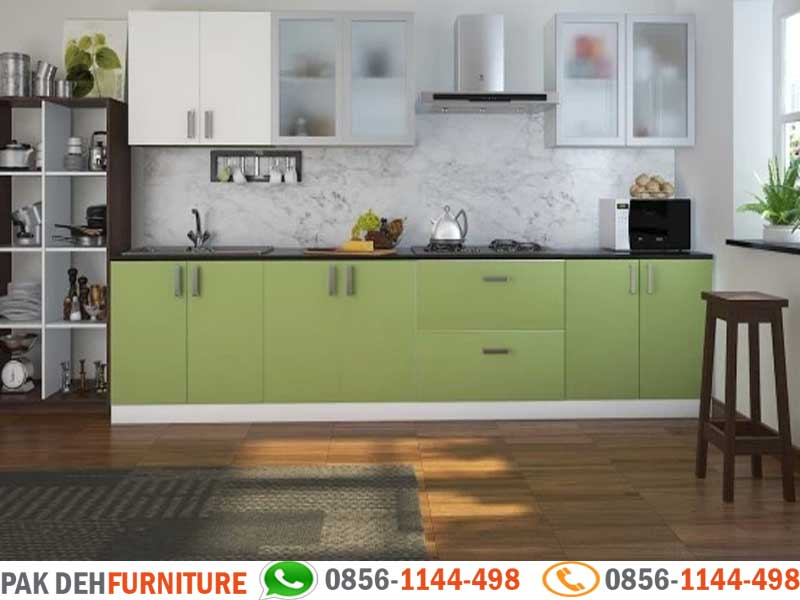 Straight Kitchen Set Jasa Pembuatan Kitchen Set Bogor Jakarta Depok Tangerang Dan Bekasi