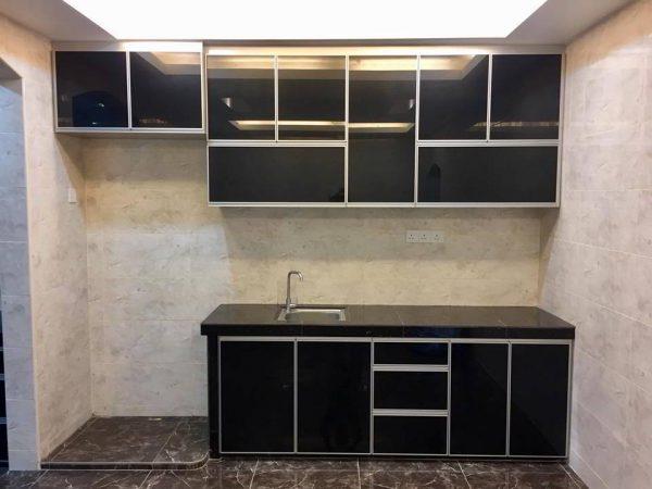 Desain Kitchen Set Aluminium Kecil