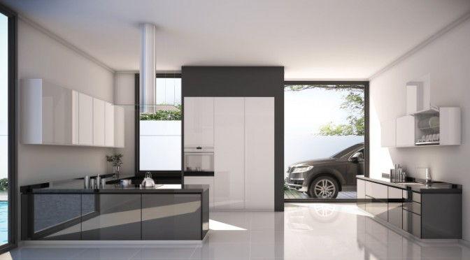 Desain Kitchen Set Aluminium Mewah
