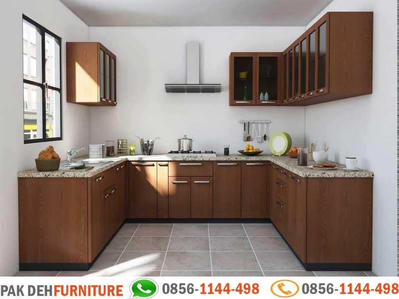 Foto Kitchen Set Tangerang Bentuk U