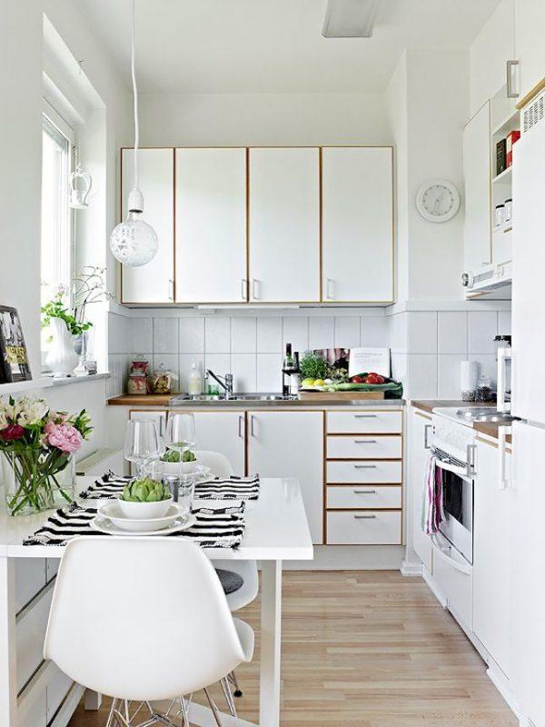 Inspirasi Kitchen Set Aluminium Untuk Apartemen