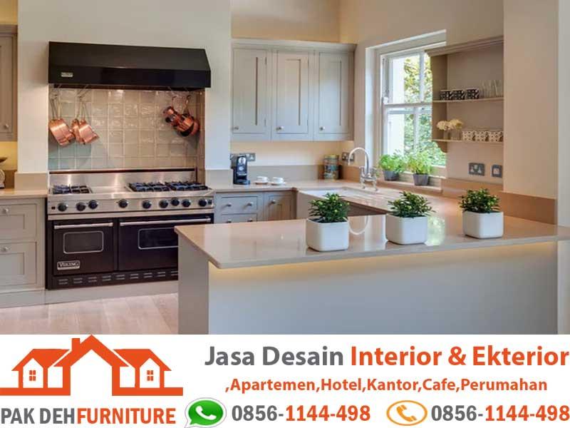 Jasa Pembuatan Kitchen Set Tangerang Murah Bentuk U
