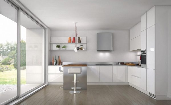 Kitchen Aluminium Modern