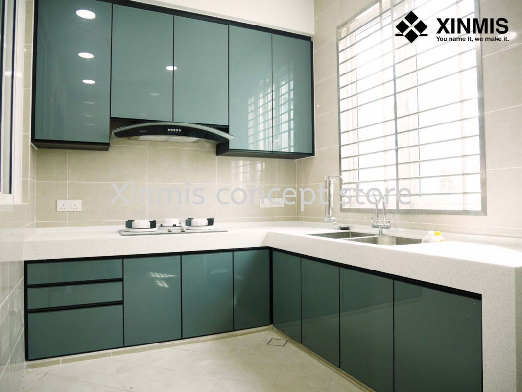 31 Model Kitchen Set Aluminium Jasa Harga Terbaru 2021 Kitchen set bahan aluminium