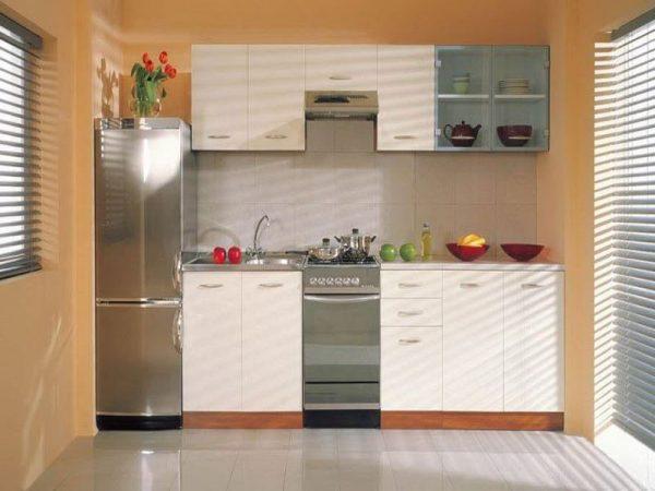 Model Kitchen Set Aluminium Warna Coklat
