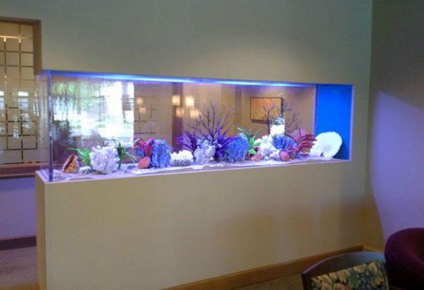 Partisi aquarium Modern
