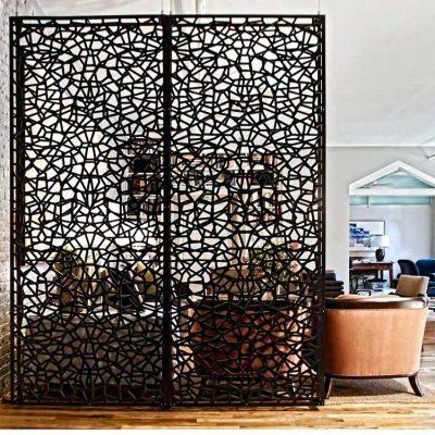decoratif penyekat ruangan dari bahan besi