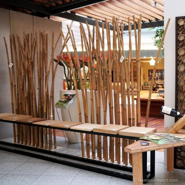 desain partisi bambu on white base