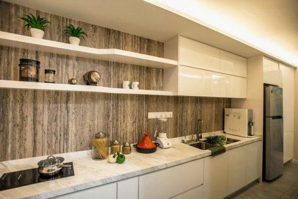 kitchen set hpl murah