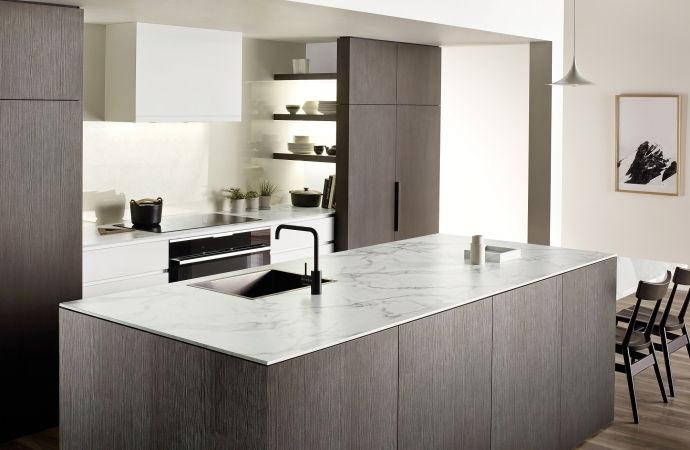 model kitchen set murah dengan hpl