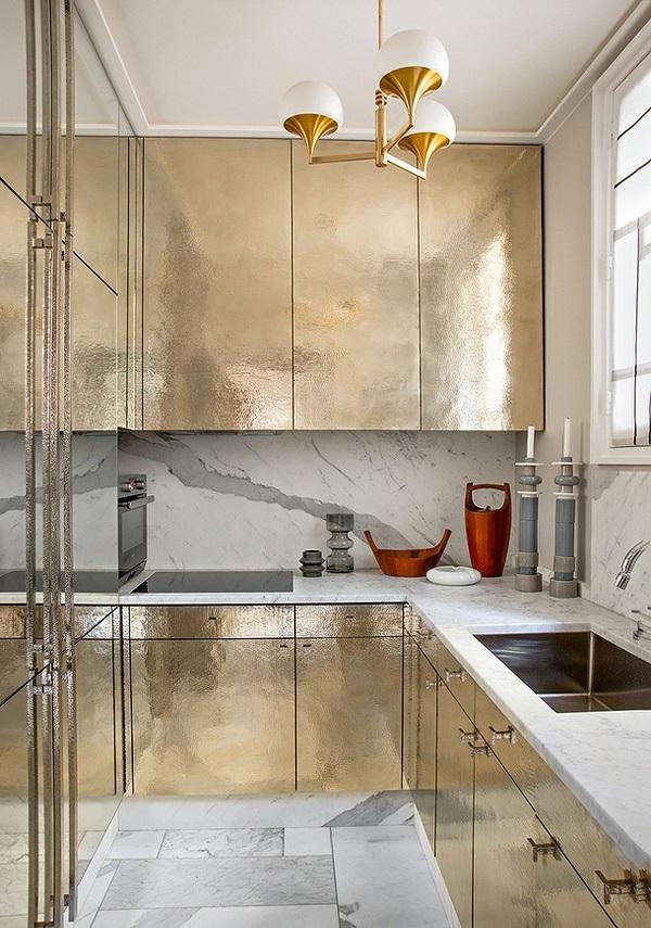 Desain Dapur Cantik Ukuran 3x3 Milik Jean Louis