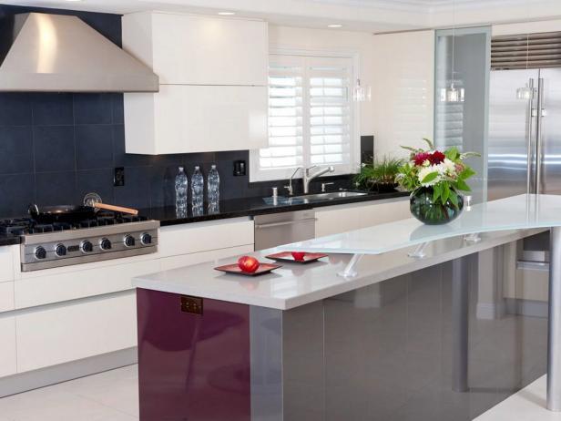 Desain Dapur Kontemporer Modern Ukuran 3x3