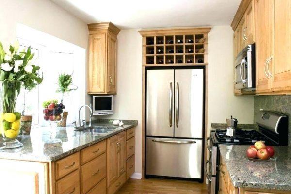 Desain Dapur Sederhana Ukuran 3x3 Inidan Style