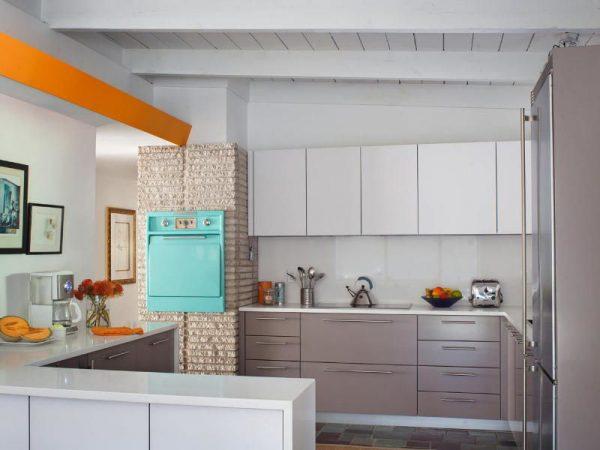Model Kitchen Set HPL Contemporary