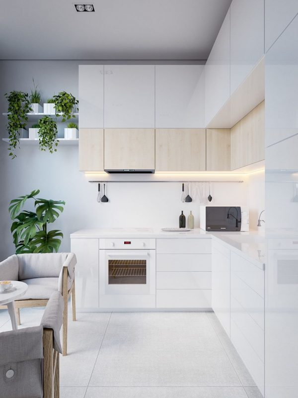 Model Kitchen Set HPL Minimalis