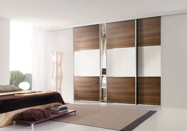 Model Lemari Pakaian Pintu Geser Minimalis