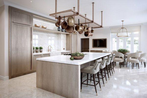 desain dapur mewah minimalis