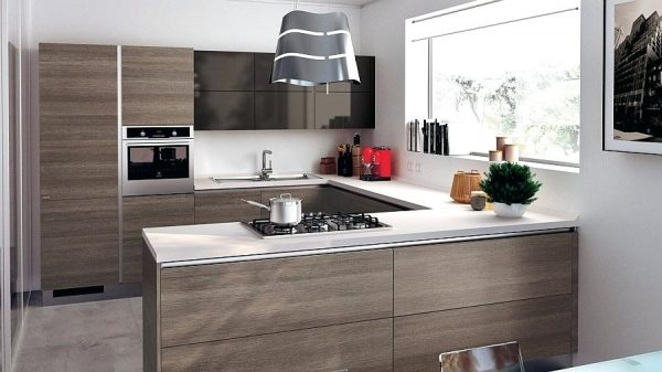 desain kitchen set hpl kontemporary