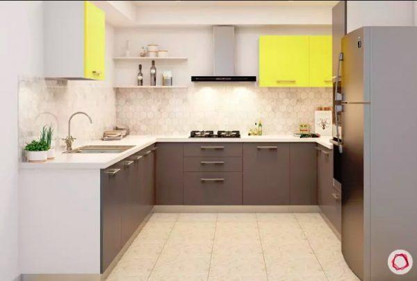 desian kitchen kecil dengan hpl