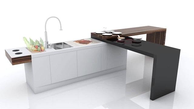 foto desain dapur smart