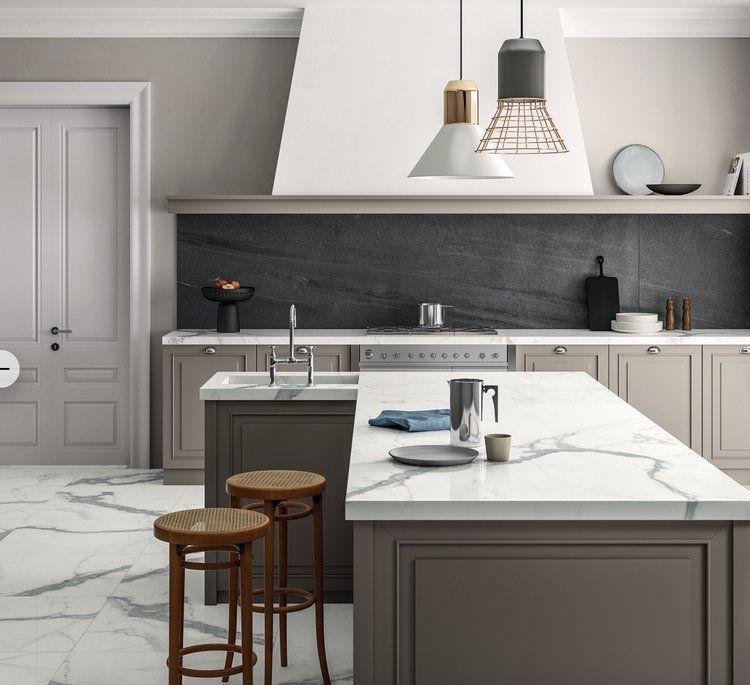 jasa pasang solid surface kitchen set di bogor