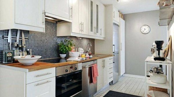 kitchen apartemen finising hpl