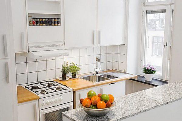 kitchen set hpl untuk apartemen