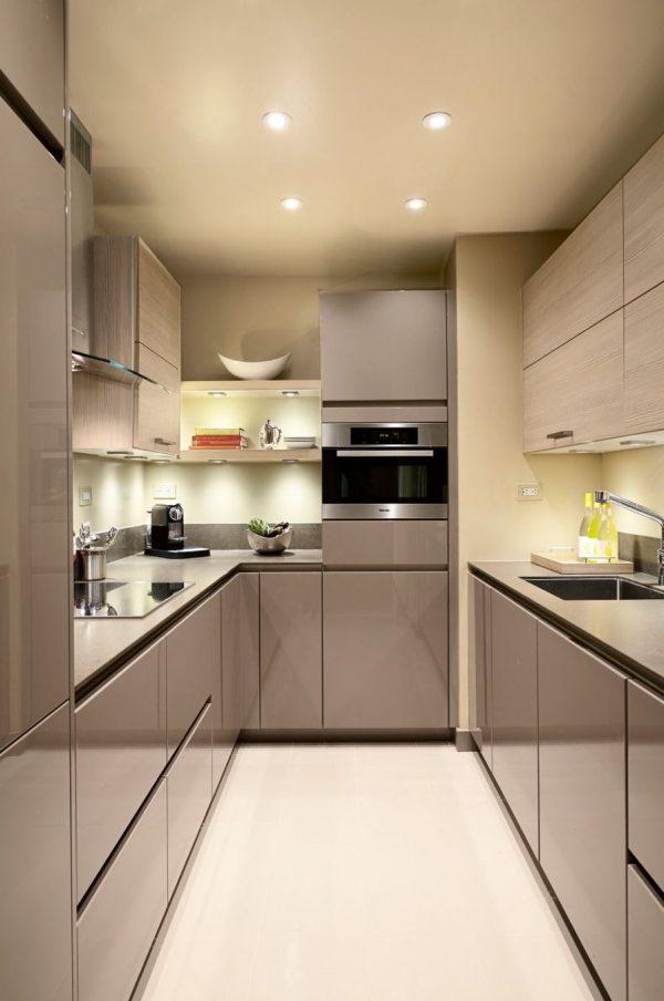kitchen set kontemporary finising hpl