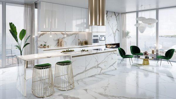 model dapur mewah minimalis