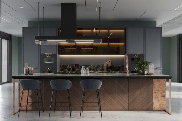 model dapur minimalis dan mewah