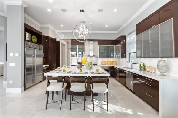 model kitchen modern with hpl