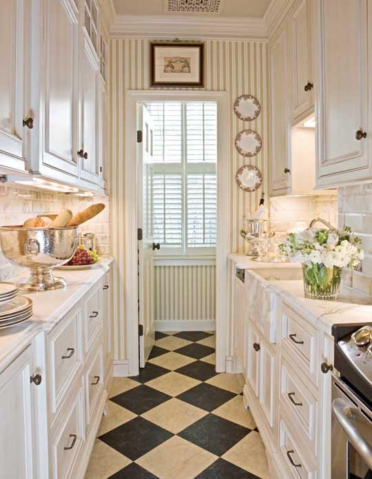 model minimalis untuk dapur lorong kecil